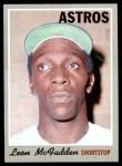 1970 Topps #672  Leon McFadden  Front Thumbnail