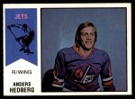 1974 O-Pee-Chee WHA #17  Anders Hedberg  Front Thumbnail