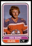 1975 O-Pee-Chee WHA #37  Ken Baird  Front Thumbnail