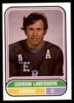 1975 O-Pee-Chee WHA #89  Gord Labossiere  Front Thumbnail