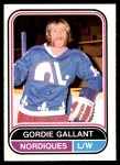 1975 O-Pee-Chee WHA #96  Gordie Gallant  Front Thumbnail