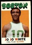 1971 Topps #69  Jo Jo White   Front Thumbnail