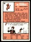 1966 Topps #40  John McCormick  Back Thumbnail