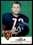 1969 Topps #3  Jim Cadile  Front Thumbnail