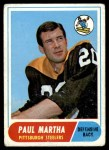 1968 Topps #111  Paul Martha  Front Thumbnail