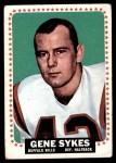 1964 Topps #40  Gene Sykes  Front Thumbnail
