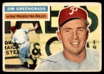1956 Topps #275  Jim Greengrass  Front Thumbnail