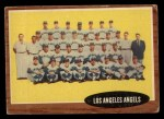 1962 Topps #132 A  Angels Team Front Thumbnail