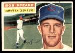 1956 Topps #66  Bob Speake  Front Thumbnail