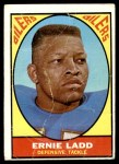 1967 Topps #58  Ernie Ladd  Front Thumbnail