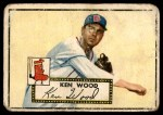1952 Topps #139 CRM Ken Wood  Front Thumbnail