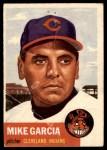 1953 Topps #75  Mike Garcia  Front Thumbnail