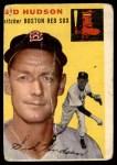 1954 Topps #93  Sid Hudson  Front Thumbnail