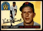 1955 Topps #136  Bunky Stewart  Front Thumbnail