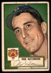 1952 Topps #126  Fred Hutchinson  Front Thumbnail