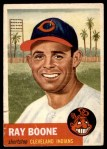 1953 Topps #25  Ray Boone  Front Thumbnail