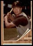 1962 Topps #95  Don Hoak  Front Thumbnail