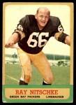 1963 Topps #96  Ray Nitschke  Front Thumbnail