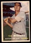 1957 Topps #1  Ted Williams  Front Thumbnail