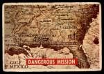 1956 Topps Davy Crockett #2 GRN  Dangerous Mission  Front Thumbnail