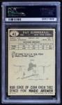 1959 Topps #41  Pat Summerall  Back Thumbnail