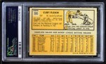1963 Topps #505  Curt Flood  Back Thumbnail