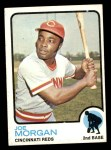 1973 Topps #230  Joe Morgan  Front Thumbnail