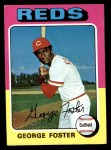 1975 Topps #87  George Foster  Front Thumbnail