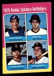 1975 Topps #620   -  Gary Carter / Marc Hill / Danny Meyer / Leon Roberts Rookie Catchers - Outfielders   Front Thumbnail