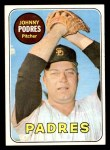 1969 Topps #659  Johnny Podres  Front Thumbnail