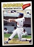 1977 Topps #345  Reggie Smith  Front Thumbnail