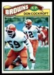 1977 Topps #304  Don Cockroft  Front Thumbnail