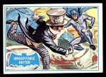 1966 Topps Batman Blue Bat Back #42 BLU  Inhospitable Hatter! Front Thumbnail