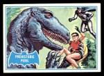 1966 Topps Batman Blue Bat Back #17 BLU  Prehistoric Peril Front Thumbnail