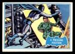 1966 Topps Batman Blue Bat Back #36 BLU  Pressing Position Front Thumbnail