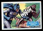 1966 Topps Batman Blue Bat Back #14 BLU  Neanderthal Nemesis Front Thumbnail