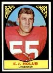 1967 Topps #66  E.J. Holub  Front Thumbnail