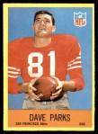 1967 Philadelphia #176  Dave Parks  Front Thumbnail