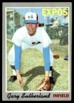 1970 Topps #632  Gary Sutherland  Front Thumbnail