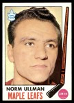 1969 Topps #54  Norm Ullman  Front Thumbnail