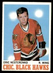 1970 Topps #19  Eric Nesterenko  Front Thumbnail