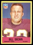 1967 Philadelphia #99  Bill Brown  Front Thumbnail