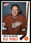 1969 Topps #63  Bruce MacGregor  Front Thumbnail