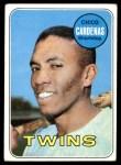 1969 Topps #265  Leo 'Chico' Cardenas  Front Thumbnail