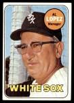 1969 Topps #527  Al Lopez  Front Thumbnail