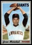 1970 Topps #210  Juan Marichal  Front Thumbnail