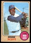 1968 Topps #233  George Scott  Front Thumbnail