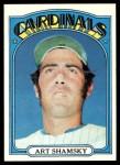 1972 Topps #353  Art Shamsky  Front Thumbnail