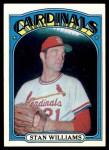 1972 Topps #9  Stan Williams  Front Thumbnail