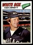 1977 Topps #157  Ken Brett  Front Thumbnail